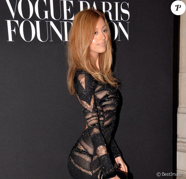 Zahia Dehar - Premier gala de la Vogue Paris Foundation au Palais Galliera à Paris le 9 juillet 2014. Cette fondation a pour objectif de développer les collections contemporaines du Musée de la mode de la ville de Paris.