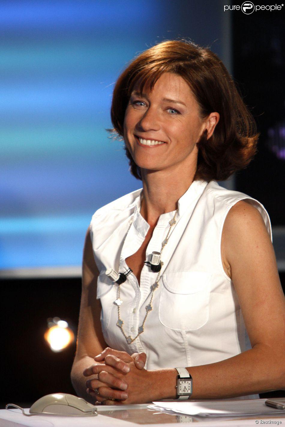 La journaliste Carole Gaessler en 2009.