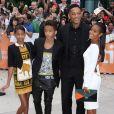 "Willow Smith, Jaden Smith, Will Smith, Jada Pinkett Smith - Première du film ""Free Angela"" à Toronto le 9 septembre 2012"