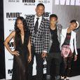 Jada Pinkett Smith,Willow Smith, Will Smith, Jaden Smith - Première du film Men in Black 3 à New York le 23 mai 2012