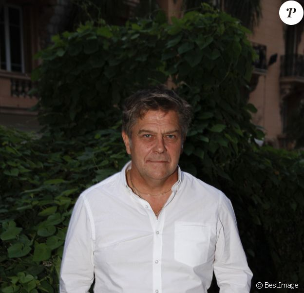 """Thierry Redler lors du 2e festival """"Les Héros de la Télé"""" à Beausoleil, le 5 octobre 2013."""