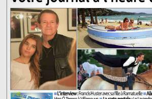 Yannick noah papa fier et combl sa fille la jolie yelena s 39 est mari e - Helene darroze francis darroze ...