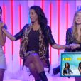 Leila, Sara et Elodie, nominées, dans la quotidienne de Secret Story 8, sur TF1, le vendredi 8 aout 2014