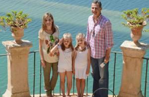Letizia et Felipe VI d'Espagne, Leonor, Sofia : Balade cool et classe à La Raixa