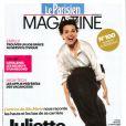 Juliette Binoche en couverture du magazine du Parisien du 15 août 2014