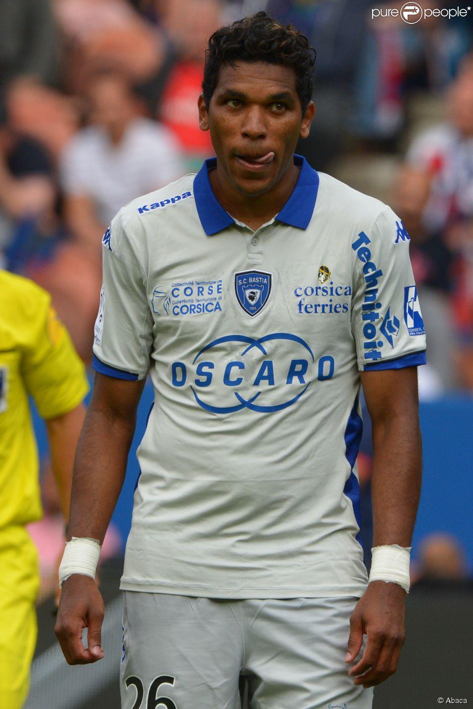 Brandao lors du match PSG-Bastia au Parc des Princes à Paris le 16 août 2014