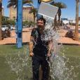 Alex Goude accepte de relever l'Ice Bucket Challenge