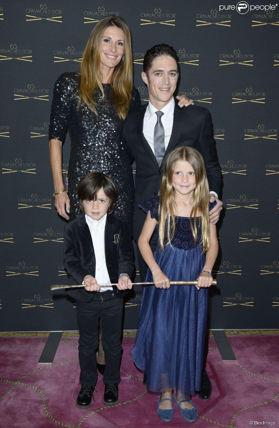 Sophie thalmann son mari christopher soumillon et leur enfants charlie et mika 65e dition - Sophie thalmann charlie soumillon ...