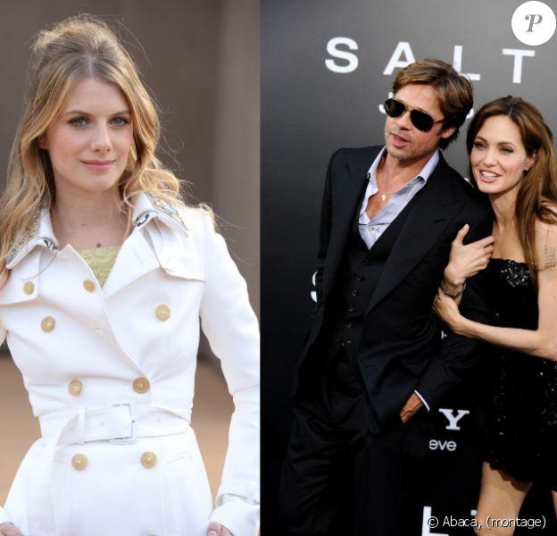 """Angelina Jolie et Brad Pitt ont choisi Mélanie Laurent pour leur donner la réplique dans """"By The Sea"""", leur projet de film prévu pour 2015."""