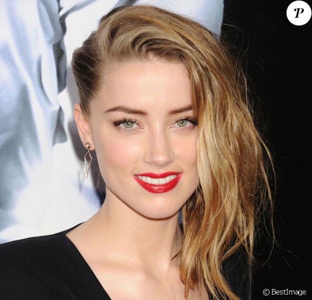 Amber Heard à Hollywood, le 12 février 2014.
