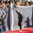 Chris Brown aux MTV Video Music Awards 2014 à Inglewood. Le 24 août 2014.