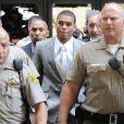 Chris Brown au tribunal de Los Angeles. Juin 2009.