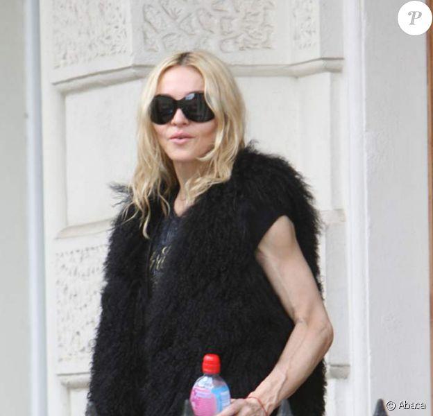 Madonna va à la Gym à Londres, aujourd'hui