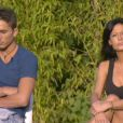 "Le secret de Nathalie et Vivian en danger - ""Secret Story 8"" sur TF1. Le 1er septembre 2014."