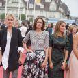 Clémence Poésy, Anne Berest, Lola Bessis - Cérémonie d'ouverture du 40e Festival du cinéma américain de Deauville le 5 septembre 2014.