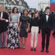 Clémence Poésy, Anne Berest, Lola Bessis, Audrey Dana, Héloïse Letissier, Freddie Highmore (Jury Révélation Cartier) - Cérémonie d'ouverture du 40e Festival du cinéma américain de Deauville le 5 septembre 2014.