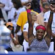 Serena Williams après son triomphe à l'US Open face à son amie Caroline Wozniacki, le 7 septembre à New York