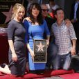 Christina Applegate, Ed O'Neill, Katey Sagal et David Faustino - Katey Sagal reçoit son étoile sur le Hollywood Walk of Fame, à Los Angeles, le 9 septembre 2014