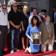 John Landgraf, Ed O'Neill, Christina Applegate, David Faustino, Leron Gubler - Katey Sagal reçoit son étoile sur le Hollywood Walk of Fame, à Los Angeles, le 9 septembre 2014
