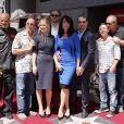 David Labrava, Paris Barclay, Dayton Callie, Christina Applegate, Charlie Hunnam, Katey Sagal, Kurt Sutter, Ed O'Neill, Dave Faustino - Katey Sagal reçoit son étoile sur le Hollywood Walk of Fame, à Los Angeles, le 9 septembre 2014