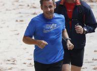 Nicolas Sarkozy : Un joggeur qui se donne à fond avant le retour attendu...
