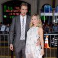 Dax Shepard et Kristen Bell enceinte à la première de This Is Where I Leave You à Los Angeles, le 15 septembre 2014.