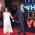 Amanda Anka et Jason Bateman à la première de This Is Where I Leave You à Los Angeles, le 15 septembre 2014.