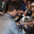 """Daniel Radcliffe - Avant première du film """"Horns"""" au Gaumont Marignan à Paris le 16 septembre 2014."""