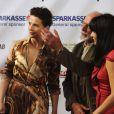 "Juliette Binoche lors du ""Manaki Brothers Film Festival"" à Bitola le 13 septembre 2014"