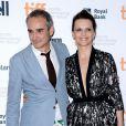 Olivier Assayas et Juliette Binoche, présentant Sils Maria, au Festival du film de Toronto le 4 septembre 2014