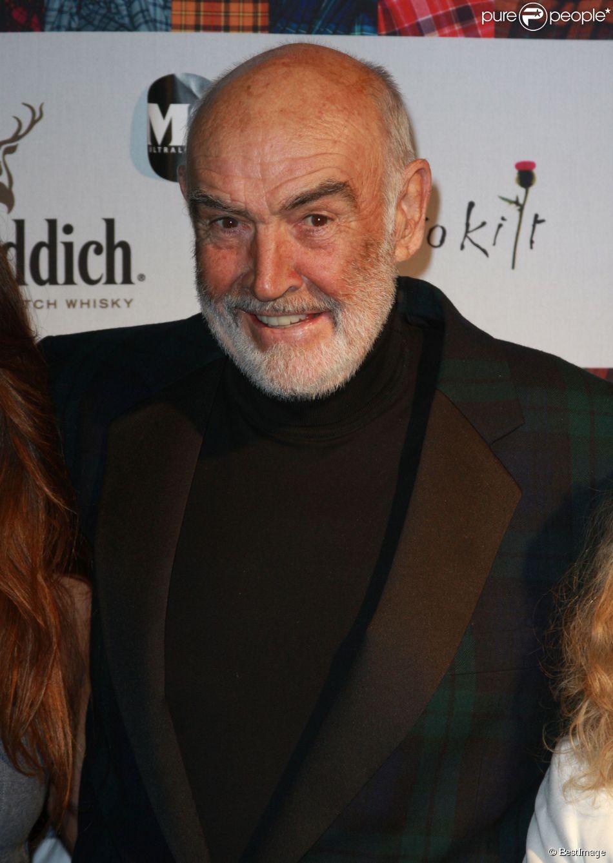 Sean Connery à New York le 5 avril 2010