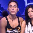 Nathalie et Vivian dans la quotidienne de Secret Story 8, le jeudi 18 septembre 2014 sur TF1