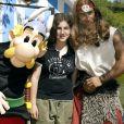 Ilona Mitrecey lors de l'ouverture de la nouvelle attraction Les Vikings débarquent au Parc Astérix à Plailly le 17 juin 2006