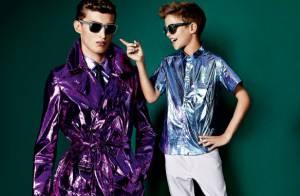 Romeo Beckham : Le fils de David et Victoria, mannequin chic pour Burberry