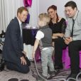Le prince Harry lors de la cérémonie des 10e WellChild Awards, le 22 septembre 2014 au Hilton de Londres, remis par l'association WellChild qui soutient les enfants malades, dont il est le parrain depuis 2007.