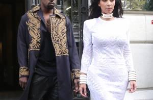 Kim Kardashian et Kanye West : Panique à leur arrivée au défilé Balmain !