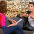 Alessandra Sublet, invitée du Tube sur Canal+, le samedi 27 septembre 2014.