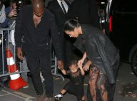 Kim Kardashian, Kanye et North West : Famille chic au défilé Givenchy