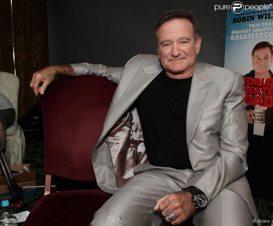 Robin Williams à Londres le 1er juillet 2010