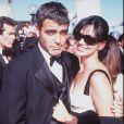 George Clooney et Karen Duffy en juin 2011.