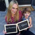 Sur WhoSay et son blog personnel, l'actrice Molly Sims annonce être enceinte de quatre mois de son second enfant, le 30 septembre 2014.