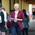 Amber Rose à Studio City. Los Angeles, le 1er octobre 2014.