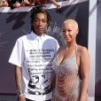 Wiz Khalifa et Amber Rose aux MTV Video Music Awards à Inglewood. Le 24 août 2014.