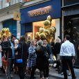 Ouverture de la boutique Aperlaï au 28, rue du Mont-Tharbor, dans le 1er arrondissement de Paris. Le 30 septembre 2014.