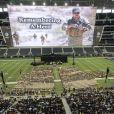 Les funérailles de Chris Kyle au Cowboys Stadium à Arlington, le 11 février 2013.