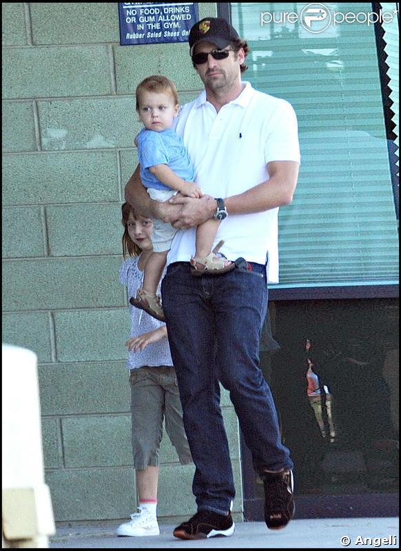 Patrick Dempsey et sa petite famille