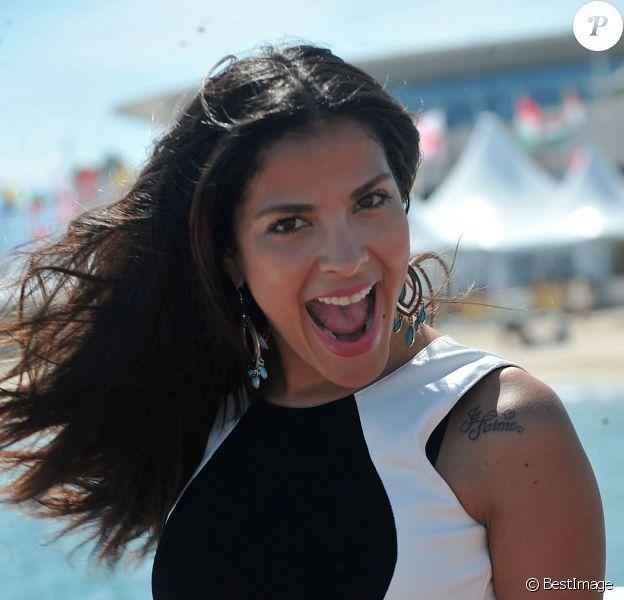Exclusif - Gyselle Soares à Cannes, le 18 mai 2014.