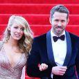 Blake Lively et Ryan Reynolds à la soirée du Met Ball à New York, le 5 mai 2014.