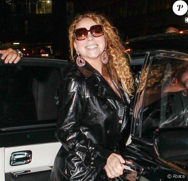 Mariah Carey à New York, le 26 août 2014.