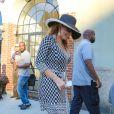 Mariah Carey de virée dans les rues de New York, le 26 août 2014.